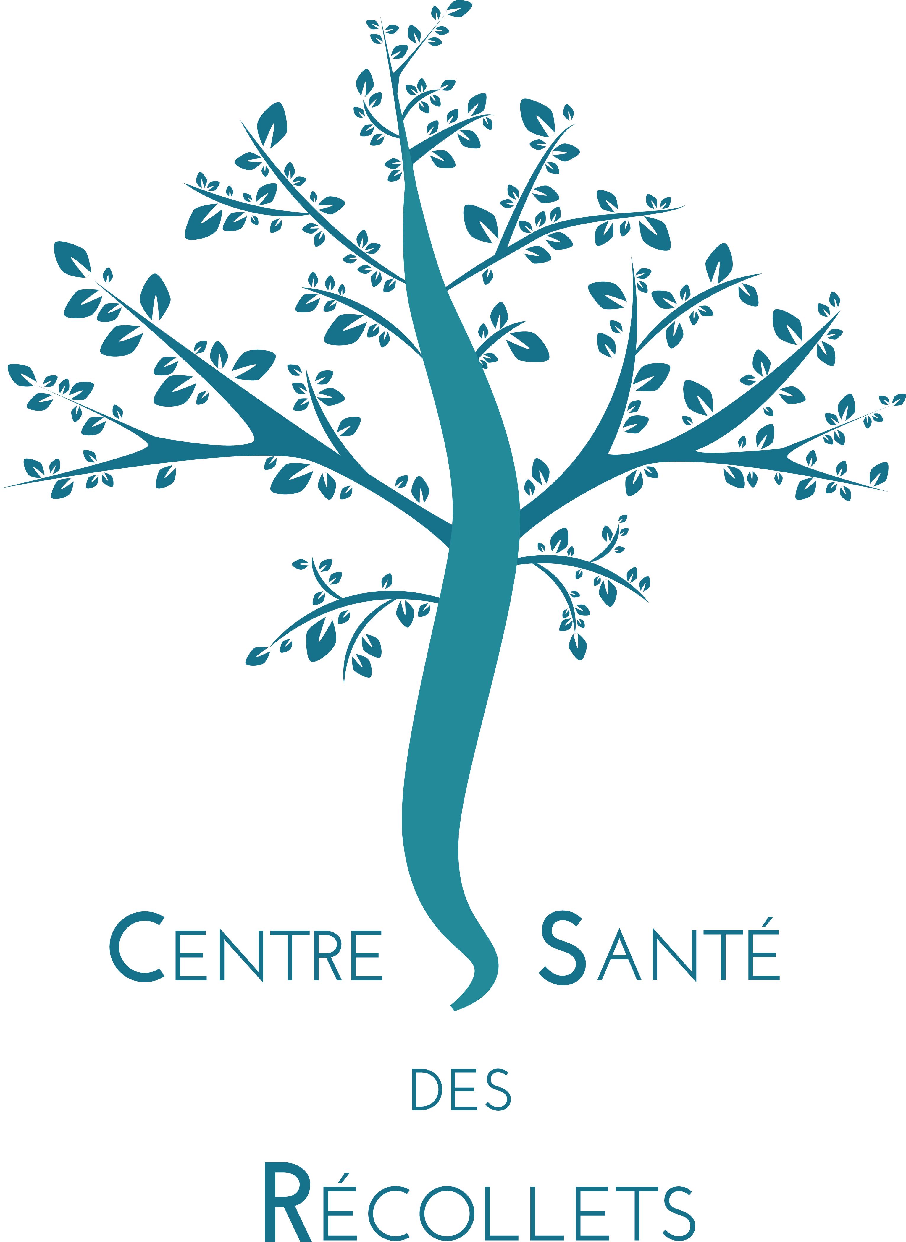 logo centre de santé des recollets